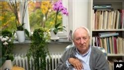 瑞典詩人托馬斯•特蘭斯特勒默獲得諾貝爾文學獎