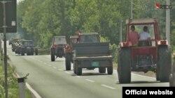 Protest poljoprivrednih proizvođača u Crnoj Gori (Foto: RTCG.me)
