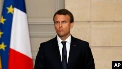 امانوئل ماکرون رئیس جمهوری فرانسه - آرشیو
