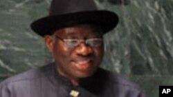 Shugaban Najeriya Goodluck Jonathan.