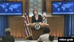 Phát ngôn viên Victoria Nuland nói rằng về vấn đề Biển Đông, Hoa Kỳ vẫn muốn tranh chấp được giải quyết qua thương lượng, và muốn thấy một bộ quy tắc ứng xử Biển Đông