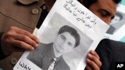 نوجوان صحافی ولی بابر کو 2011 میں ہلاک کر دیا گیا۔ فائل فوٹو