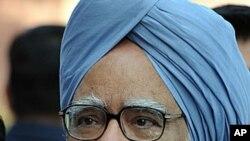 នាយករដ្ឋមន្រ្តីឥណ្ឌា Manmohan Singh។