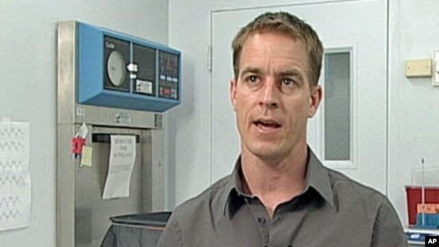 Malaria researcher Brian Foy