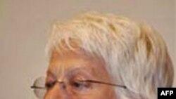 Bà Carla Del Ponte nói rằng chính phủ Albani đã ngăn chận cuộc điều tra của bà về những lời tố giác buôn bán nội tạng