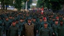 ဗင္နီဇြဲလားသမၼတ Maduro စစ္တပ္အမ်ားစု ေထာက္ခံဆဲ