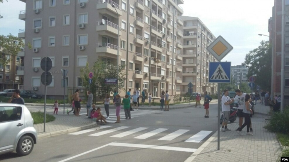 Shkupi tronditet nga tërmeti