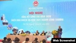 Thủ tướng Nguyễn Xuân Phúc dự Hội nghị hôm 7/1/2021. Photo Nhân dân