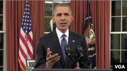 Presiden AS Barack Obama Minggu (6/12) menegaskan bahwa perang antara Amerika melawan teror bukanlah perang melawan Islam.