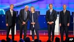 Kandidati za predsedničku nominaciju Demokratske stranke tokom debate u Las Vegasu