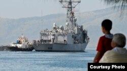 美国海军帮助菲律宾提高军力。(照片来源:美国海军)