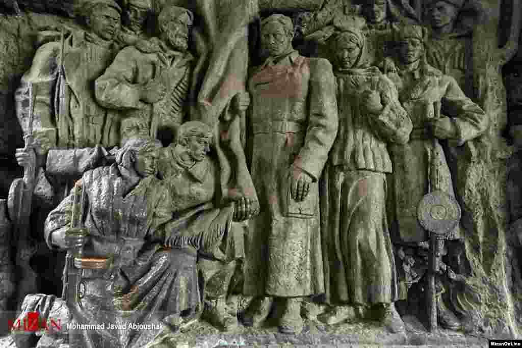 موزه جنگ اوکراین عکس: محمدجواد آبجوشک
