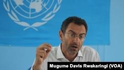 Toby Lanzer, antigo coordenador humanitário da ONU no Sudão do Sul