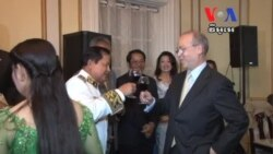 Cambodian Embassy in the US Celebrated Independence Day for the First Time