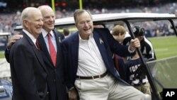 El expresidente Bush está hospitalizado desde el pasado 23 de noviembre.