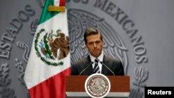 Shugaban kasar Mexico Enrique Pena Nieto