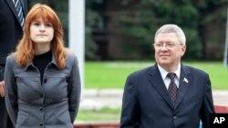 Марія Бутіна та Олександр Торшин, 2012 рік