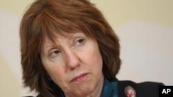 Trưởng ban chính sách đối ngoại của Liên hiệp châu Âu Catherine Ashton.