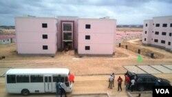 Um centralidade em Benguela