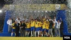 Brasil sumó su quinto campeonato en la categoría, luego de los conseguidos en 1983, 1985, 1993 y 2003.