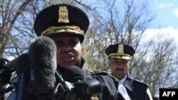 Quyền chỉ huy trưởng cảnh sát Điện Capiol, bà Yogananda Pittman.