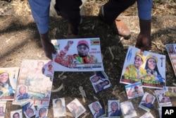 Mugabe burial ...