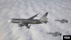 La fábrica tiene que ver directamente con los aviones militares 767 de reabastecimiento de combustible.