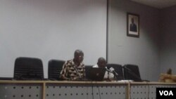 Representantes do MISA-Angola