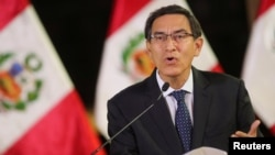 Martin Vizcarra, presidente de Perú, confirmó el primer caso del nuevo coronavirus COVID-19, en su país.