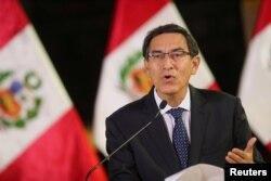 Presiden Peru, Martin Vizcarra.