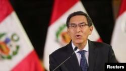 Presiden Peru Martin Vizcarra. (Foto: dok).