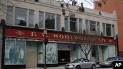 The Woolworth's five-and-dime store is now a civil rights museum.