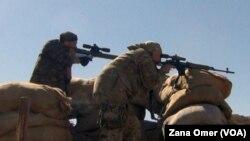 Şervanên bîyanî yên YPG li enîya Til Xenzir