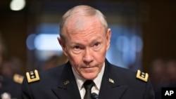 Kepala Staf Gabungan Angkatan Bersenjata AS, Jenderal Martin Dempsey (Foto: dok).