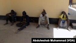 Wasu yan leken asirin kungiyar Boko Haram da Sojoji suka kama.