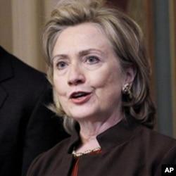Secretary of State Hillary Rodham Clinton (File)
