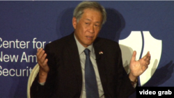 新加坡國防部長黃永宏在華盛頓智庫新美國安全中心講話(2015年12月9日)