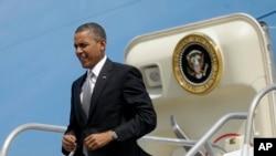 奥巴马总统5月3日抵达哥斯达黎加首都圣何塞