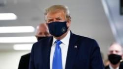特朗普支持戴口罩但拒絕全國強制令
