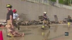 У передмісті Вашингтона дівчата проводять літо у таборі... пожежників. Відео