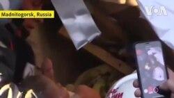 Giải cứu bé sơ sinh bị mắc kẹt 35 tiếng dưới đống đổ nát sau vụ nổ ở Nga