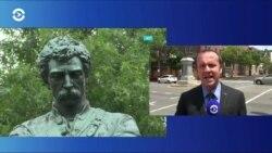В Александрии демонтировали монумент солдату Конфедерации