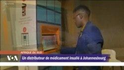 Un distributeur de médicament insallé à Johannesburg