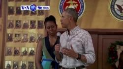 Manchetes Americanas 26 Dezembro: Obama liga para tropas fora do país para lhes agradecer
