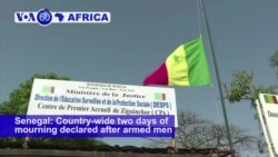 VOA60 Africa - Senegal: Two days of mourning declared after armed men killed 13 people