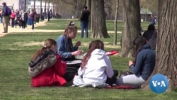 In Spring, Students Flock to US Capital
