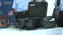 Ambasada amerikane i dhuron pajisje policisë në Maqedoni
