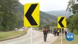 Colombie: les migrants du Venezuela se croisent sur les routes