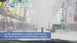 VOA60 America - Major Snowstorm Hits US Northeast