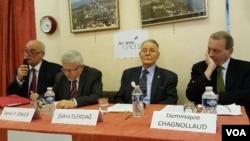 Bilgen, Önger, Elekdağ, Chagnolloud (soldan sağa)